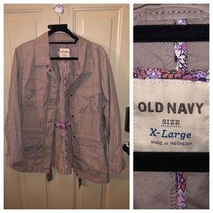Old Navy Utility Jacket XL